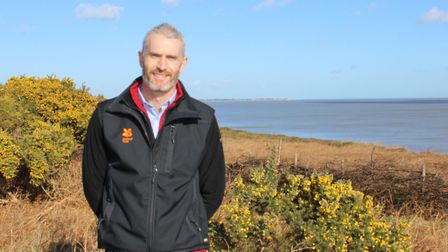 Nick Collinson, the National Trust's general manager for east Suffolk
