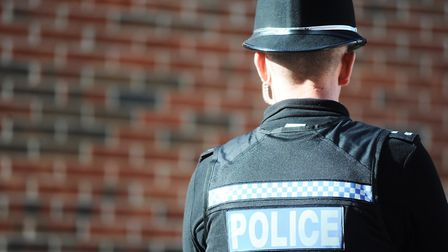 Suffolk police is appealing for information after a jogger was 'persisently' nipped by a Border Coll