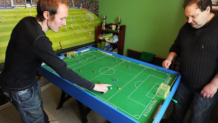 Subbuteo was once the most popular football game - but now the likes of FIFA have long since replace