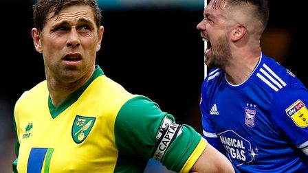 Former Norwich City striker Grant Holt has defended Ipswich Town skipper Luke Chambers. Picture; PA/