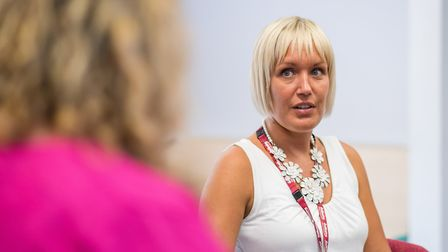 Haley Matthews manages the Wellbeing service and says her staff have worked hard to ensure the servi