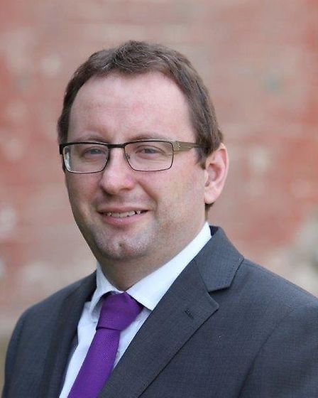 Chris Starkie from the New Anglia LEP urged businesses to take up the grants. Picture: NEW ANGLIA