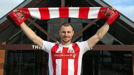 Tommy Smith has signed for Sunderland on a deal to the end of the season. Picture: SAFC