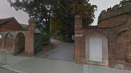 The former St Benedict's lower school site in St Andrew's Street South, Bury St Edmunds. Picture: GO