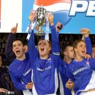 Ipswich Town won the FA Youth Cup in 2005. Picture Clifford Hicks