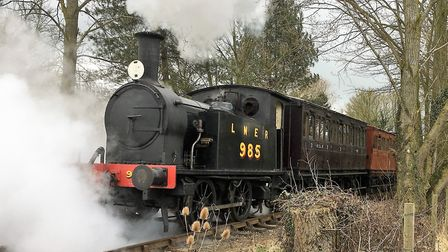 The future of the Mid Suffolk Light Railway is assured despite the lockdown. Picture: PAUL GEATER