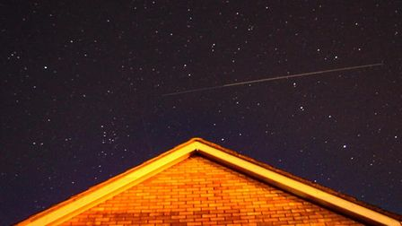 Did you spot last night's Starlink? There will be more chances to see it this week. Picture: JOHN FI