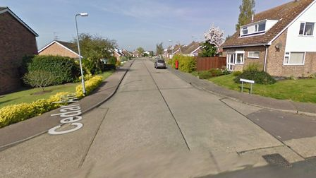 The 33-year-old was arrested in Cedar Avenue in Brightlingsea. Picture: GOOGLE MAPS