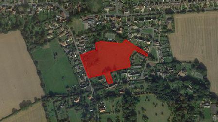 A 34 home estate has been given the go ahead in Church Road in Stutton near Ipswich. Picture: GOOGLE