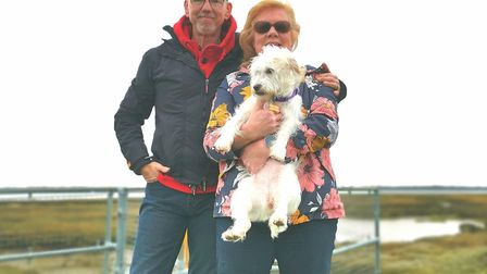 Gary Edwards and his wife Wendy created the April Fools Ultra Marathon as a way of keeping fit durin