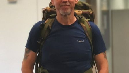 Gary Edwards served in the military and found running a great way of keeping fit Picture: GARY EDWAR