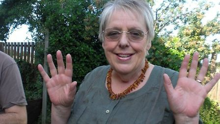 Jane Jay, from Ixworth, who died after suffering coronavirus Picture: Supplied by family