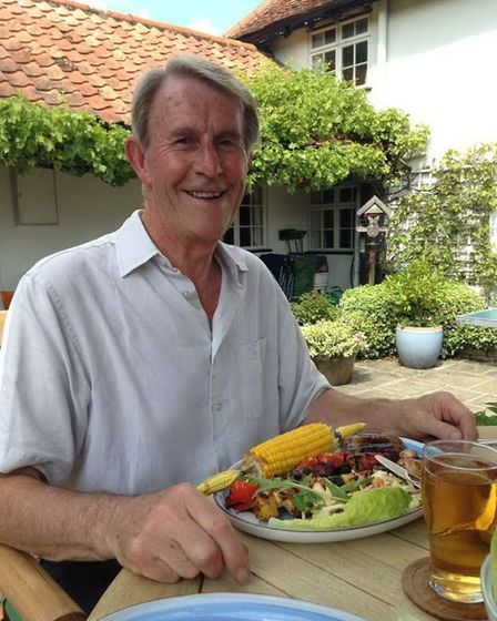 Mike Fish, who has died from coronavirus aged 73 Picture: COURTESY OF FAMILY