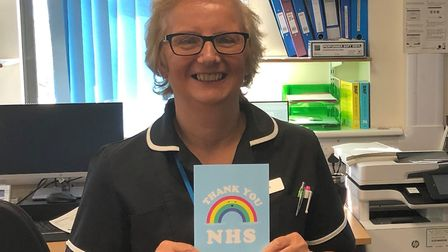Donna Booton has returned to the frontline at Colchester Hospital to help fight the coronavirus cris