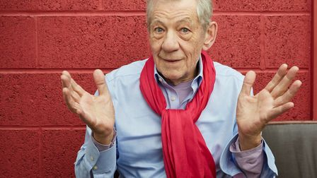 Sir Ian McKellen who will be one of the quizmasters at the National Theatre's first virtual pub quiz