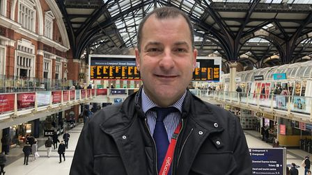 Greater Anglia managing director Jamie Burles is looking to the future after the lockdown. Picture: