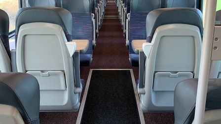 Greater Anglia is only carrying about 5% of normal passengers at present. Picture: Nathan Long/Great