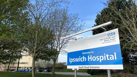 Ipswich Hospital Picture: ARCHANT