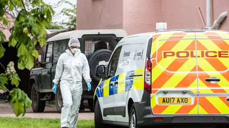 A woman in her 40s who died following a shooting in Barham has been named locally as Silke Hartshorn
