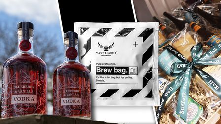 Just some of the Suffolk gifts you can send during lockdown Picture: Oli Cutmore Media/ Quench.Londo