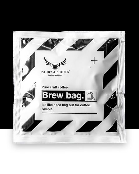Brew Bag's from Paddy and Scott can be bought online Picture: quench.London
