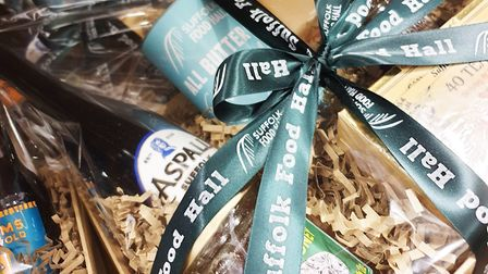Bespoke food hampers available from the Suffolk Foodhall Picture: HAMPER TEAM AT SUFFOLK FOODHALL