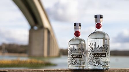 Coconut Gin from The Suffolk Distillery Picture: OLI CUTMORE MEDIA