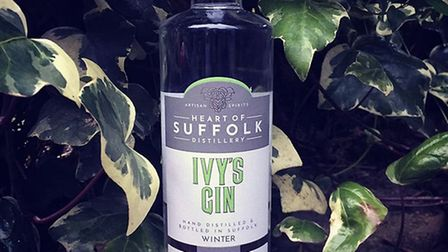 Ivy's Gin from Heart of Suffolk Distillery Picture: Allegro Creative Agency/The Occasional Wine Merc