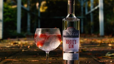 Rosie's Gin from Heart of Suffolk Distillery Picture: Allegro Creative Agency/The Occasional Wine Me
