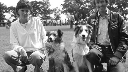 From The Archivest West West Suffolk Dog Show at Walsham le Willows August 1979