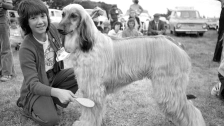 From The Archives East Dog Show on Hollesley Recreation Ground September 1975