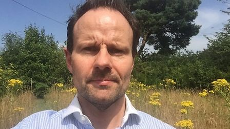 James Mallinder, Conservative cabinet member for the environment at East Suffolk Council. Picture: J