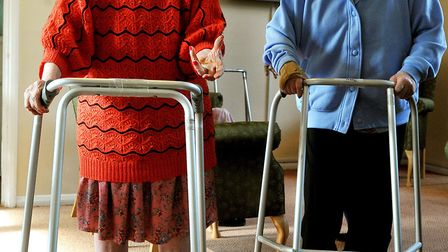 Dozens of people have died with Covid-19 in Suffolk care homes (stock image) Picture: JOHN STILLWELL