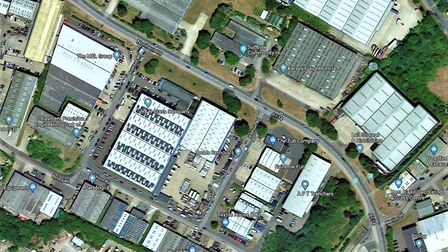 The storage facility would cover 2400 square metres on land to the west of Addison Road on Chilton I