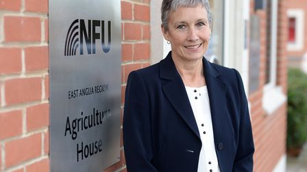 Off to France: National Farmers' Union East regional director Rachel Carrington Picture: WARREN PAG