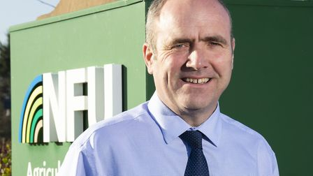 Gary Ford, who has been appointed as regional director of NFU East Anglia Picture: TOBY LEA