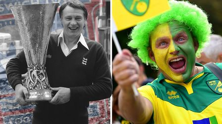 Which club is bigger - IpswichTown or Norwich City? Terry Hunt and David Lees disagree - as you'd ex