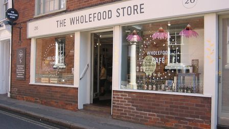 The Wholefood Store is offering a range of fresh fruit, veg and other healthy foods to keep you goin