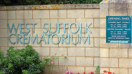 Suffolk police is appealing for information after two statues were stolen from West Suffolk Cremator