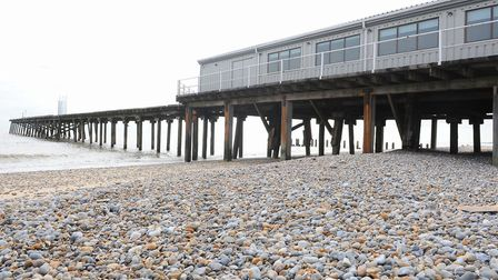 Lowestoft's Claremont Pier boats a roller skating venue, restaurant and live music area. Picture: Ja