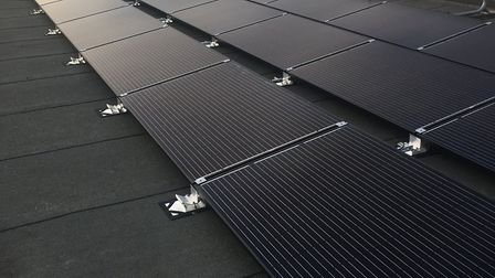 Solar panels are among the upgrades East Suffolk Council makes to its council homes t be more enviro