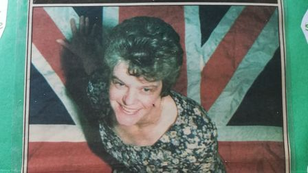 Vera Elizabeth Bentley as she appeared on the front of the East Anglian Daily Times in 1995 Picture: