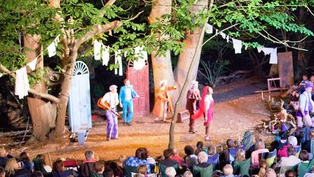 Red Rose Chain entertaining audiences with their annual Theatre in the Forest show