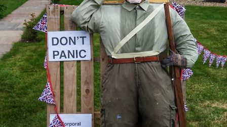 Lance Corporal Jones from Dad's Army featured in one of the designs Picture: DEBBIE PRITCHARD