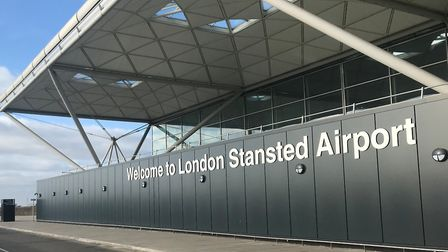 London Stansted�'s terminal building Picture: STANSTED AIRPORT