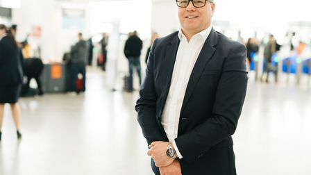 Steve Griffiths, chief operating officer at Stansted Airport. Picture: LONDON STANSTED AIRPORT
