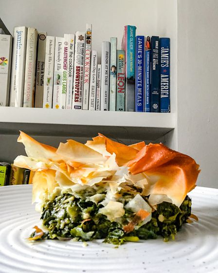 Hannah says Ouzo has to be the tipple of choice to accompany Spanakopita Picture: HANNAH GREGORY