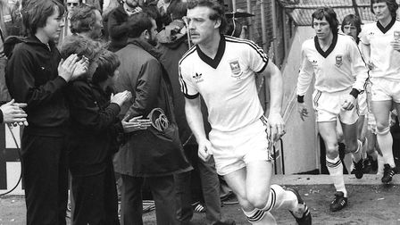 Kevin Beattie is generally acknowledged as the greatest Ipswich Town player of all time