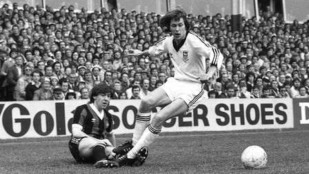 Arnold Muhren was different class for the Blues