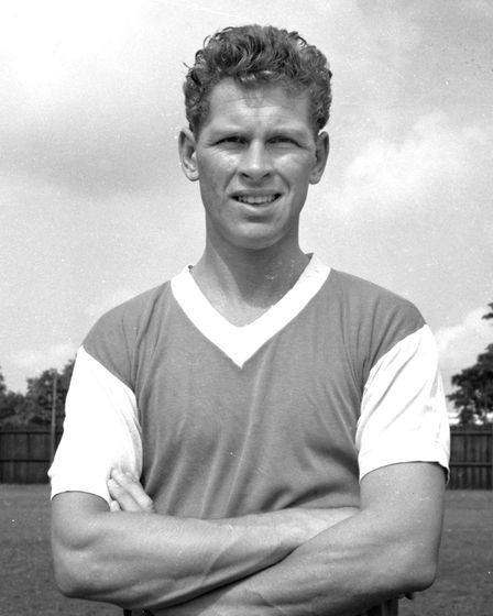 Ray Crawford's 227 goals for Town is a record which will never be beaten